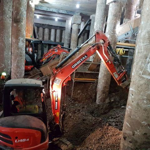 Basement Excavation - London & UK