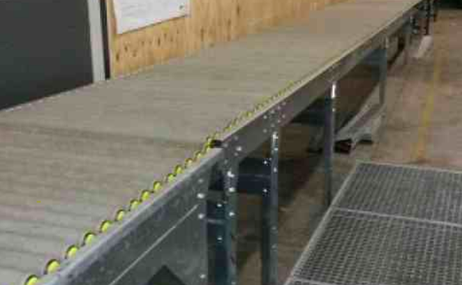 Easitrak Gravity Roller Conveyor