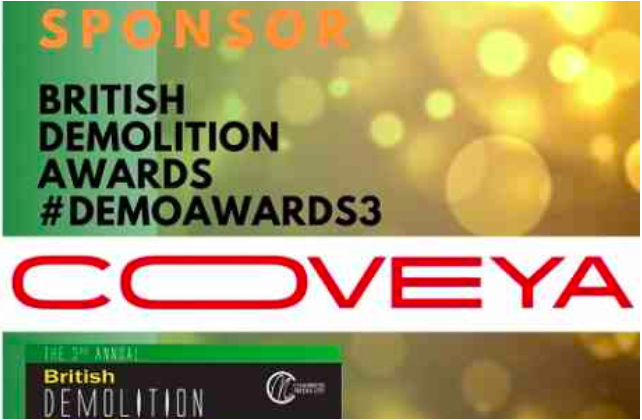 Coveya sponsoring Demolition Awards 2020