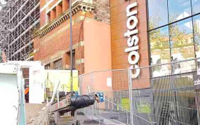 Coveya supporting Colston Hall project