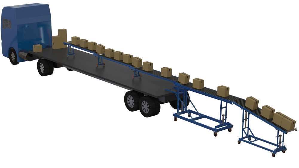 We've added a Telescopic conveyor to our hire range