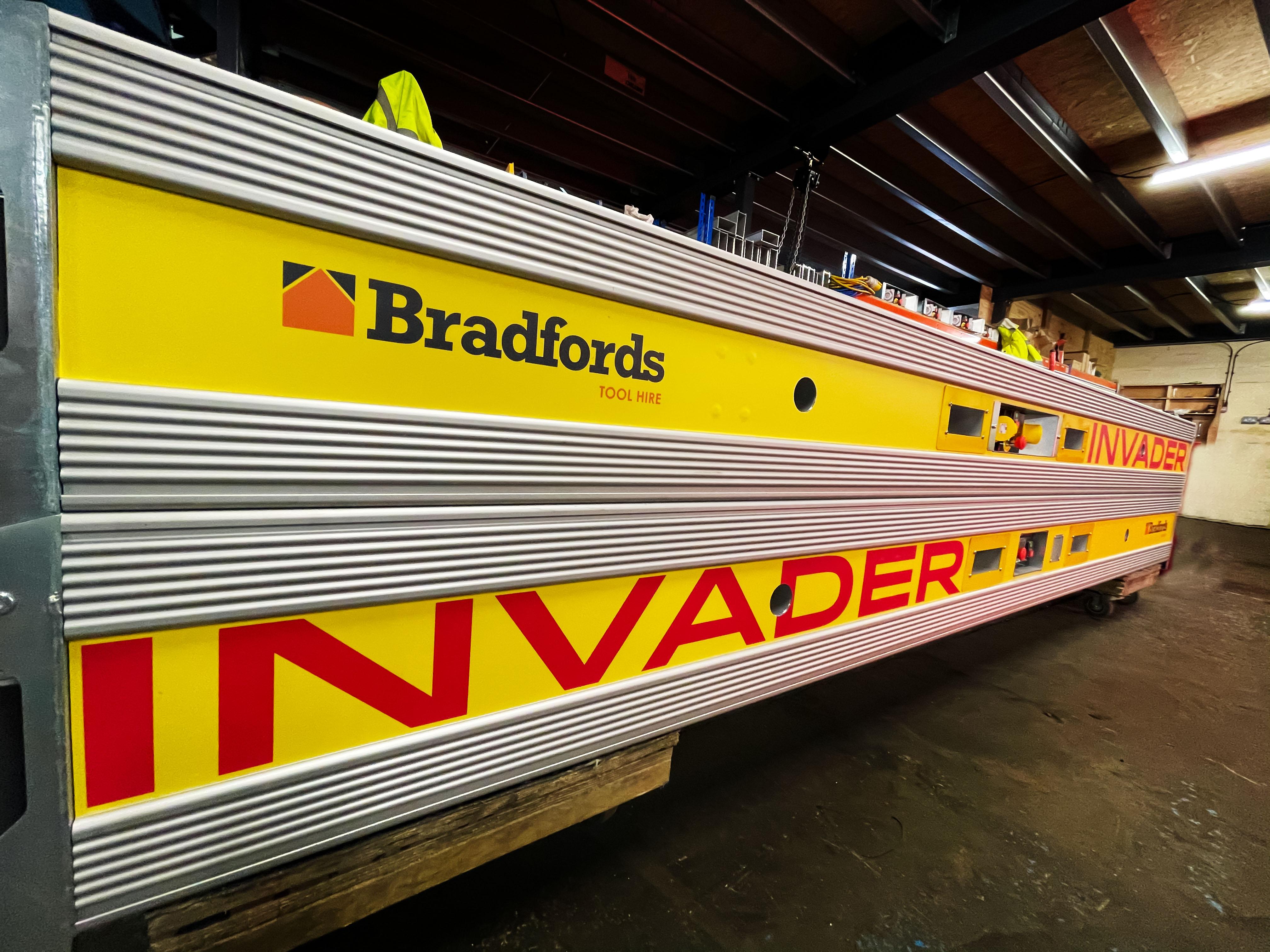 Bradfords add Invader conveyors to their fleet