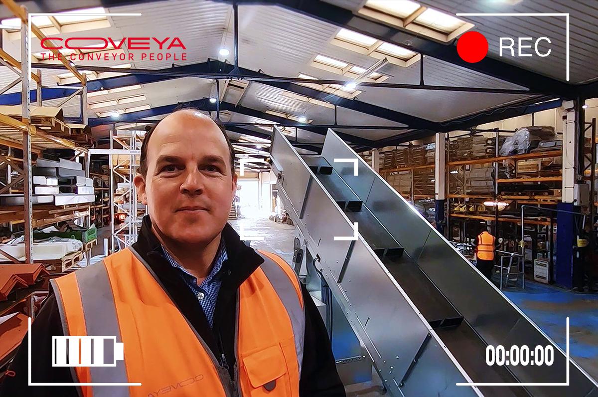 Bespoke Easikit 900 mobile conveyor explained